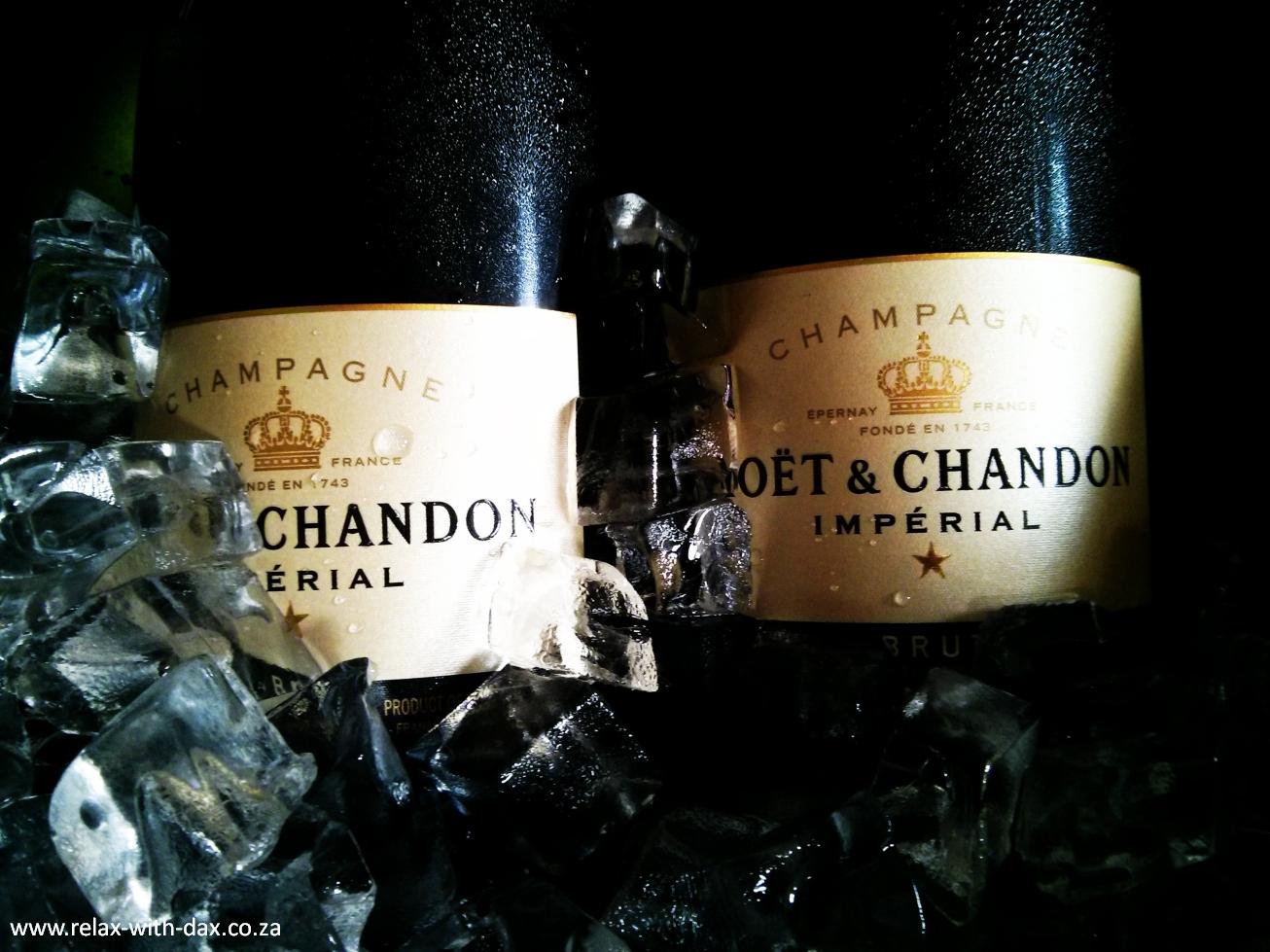 Moët & Chandon bottles