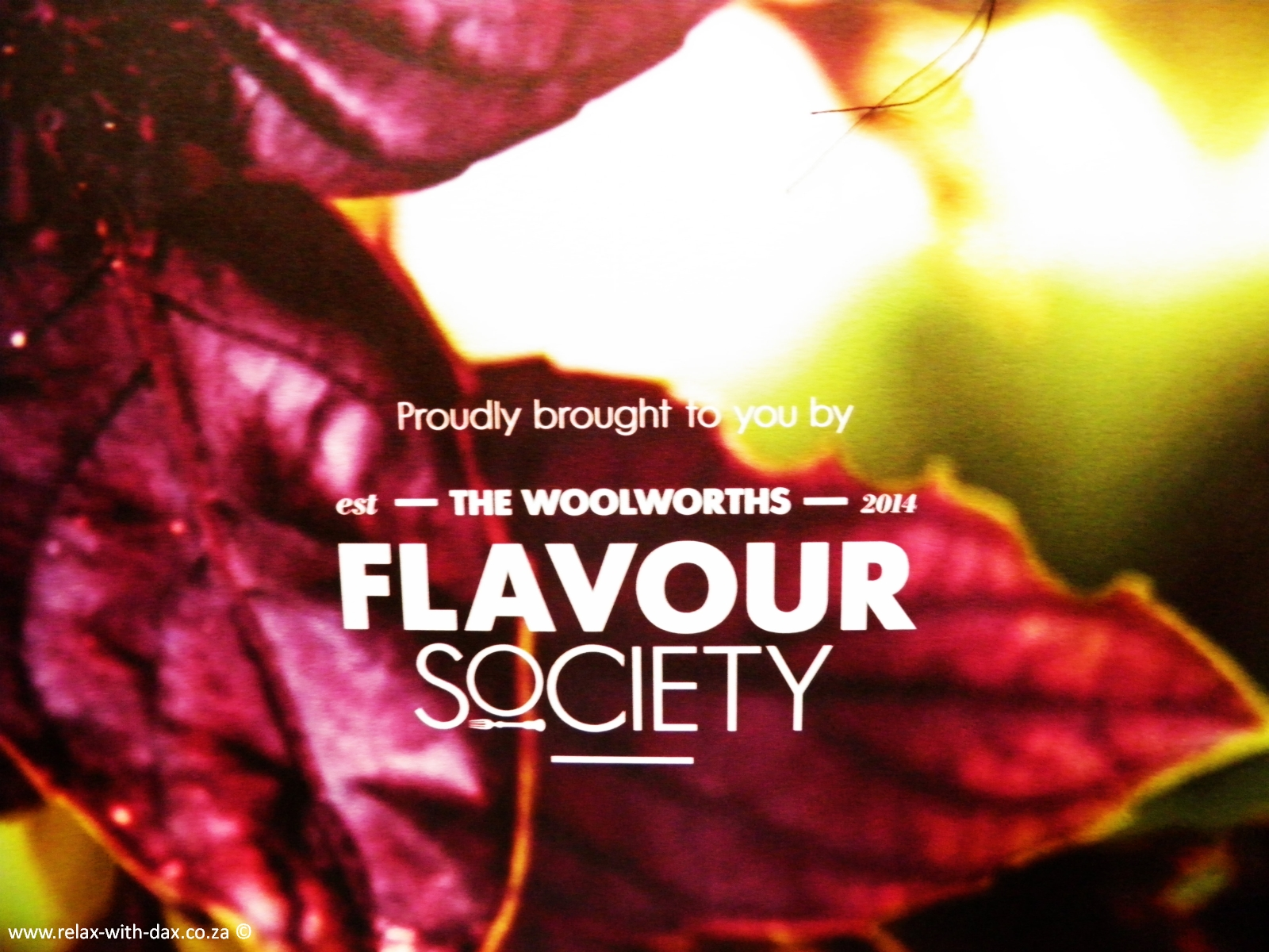 Woolworths Flavour Society