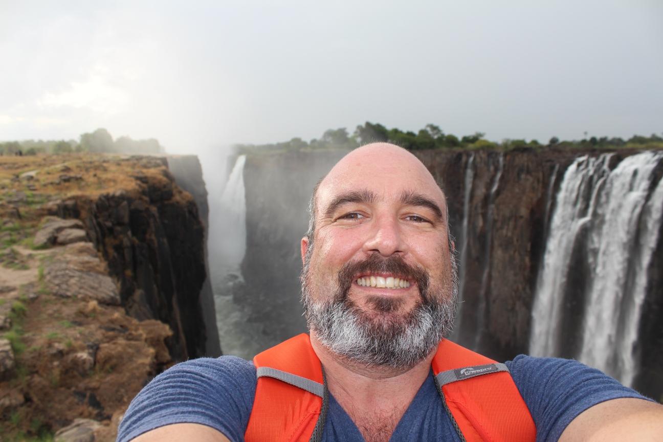 Dax travel selfie