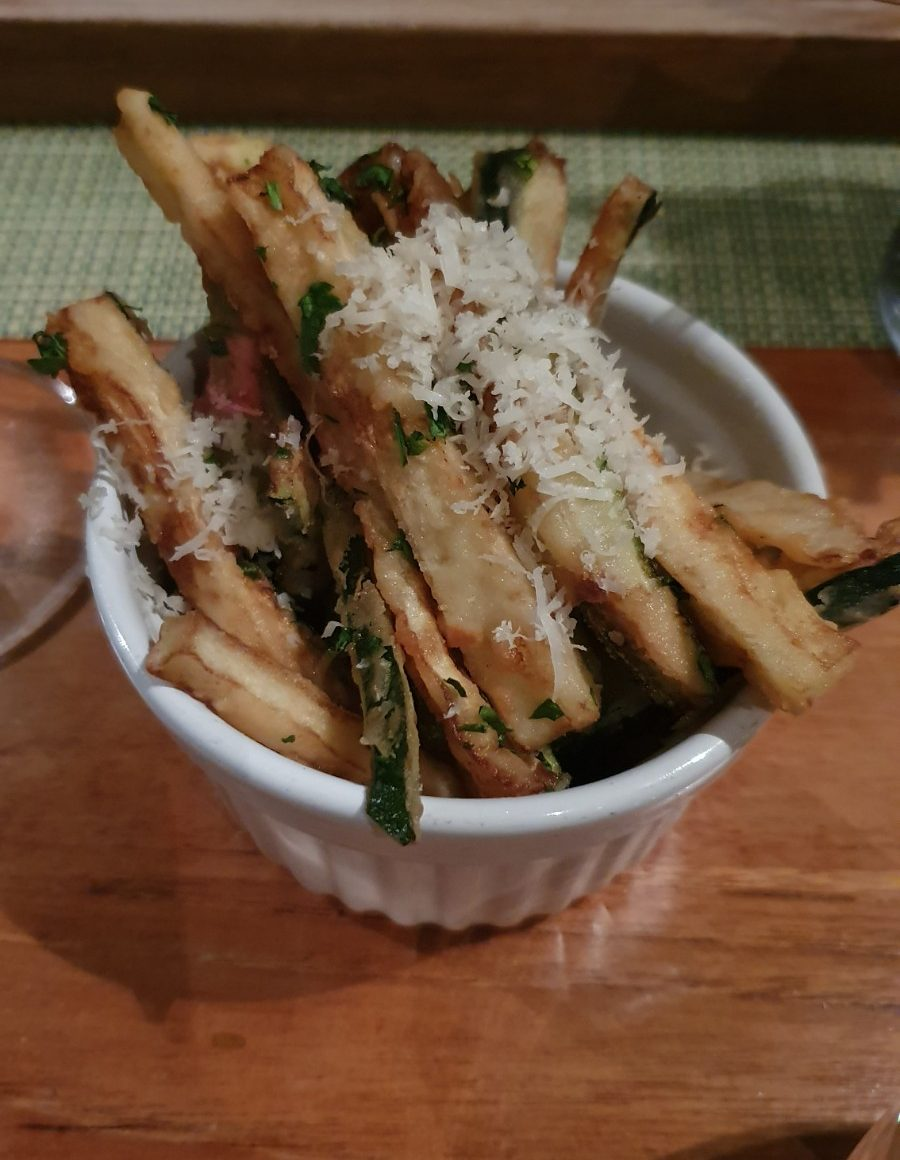 Courgette fries at High Timber